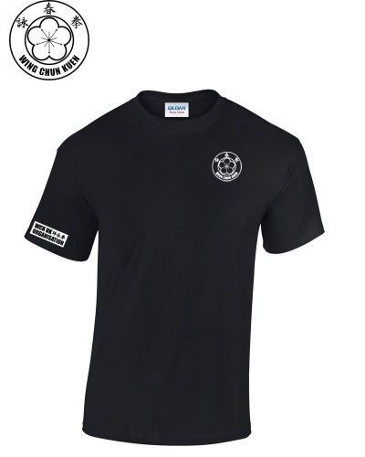 WCKUK Mens Black Cotton T-Shirt
